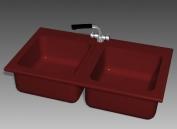 Bathroom – wash tank 018 3D Model