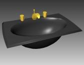 bathroom – wash tank 022 3D Model