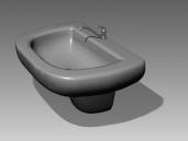 Bathroom – wash tanks 025 3D Model