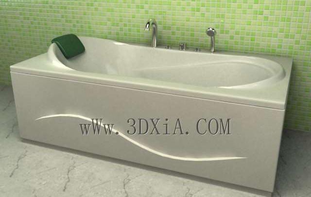 Bathtub free download-05 3D Model