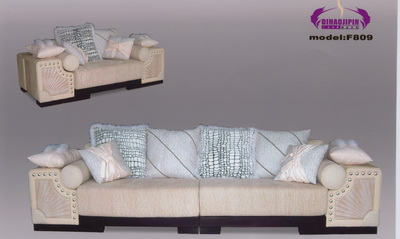 Beautiful home sofa 3D Model