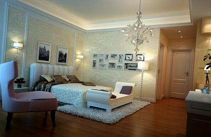 Bedroom design products 3D Model
