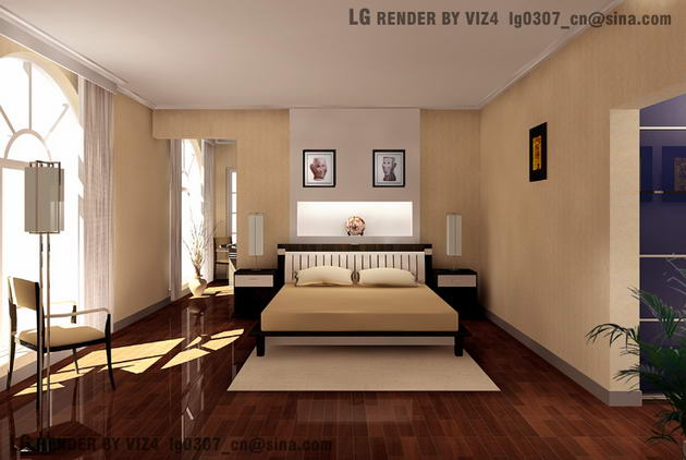 Bedroom / indoor space 3D Model
