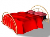 beds 3 3D Model