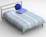beds 4-3 3D Model