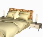 beds 5 3D Model