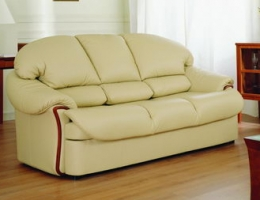 Big beige sofa 3D Model
