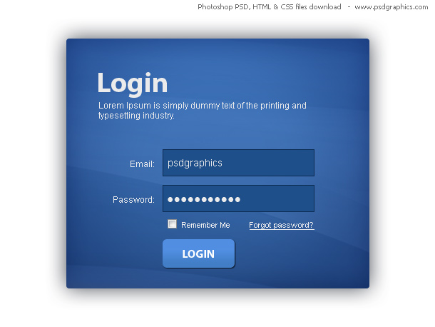 Дизайн страницы html