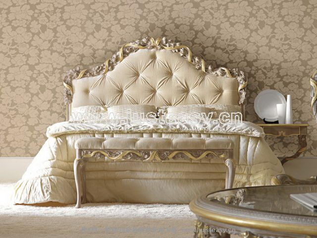 Boloni 3D model of the classical-bed (including materials)