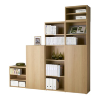 Bookcase & Storage Shelves 3D Model