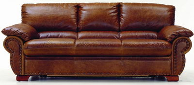Boss leather sofa 3D Model