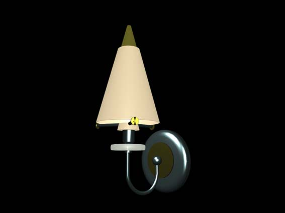 Bracket lights 004 3D Model