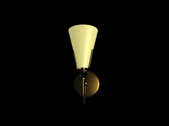 Bracket lights 007 3D Model