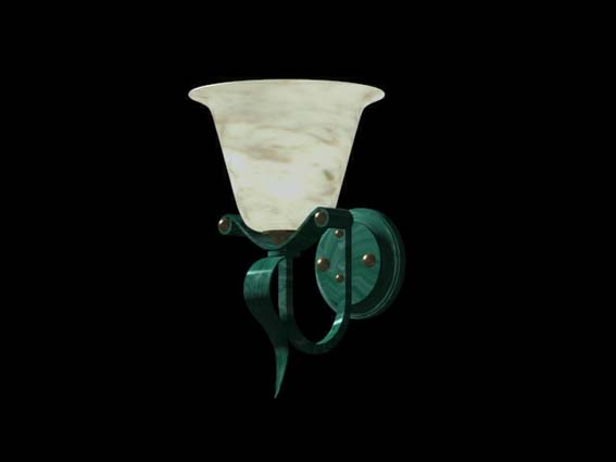 Bracket lights 015 3D Model