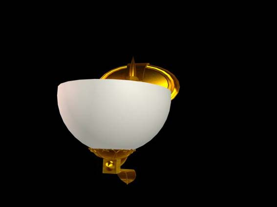 Bracket lights 017 3D Model