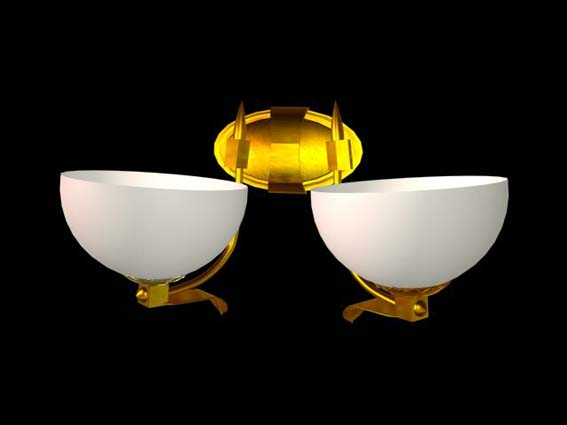 Bracket lights 018 3D Model