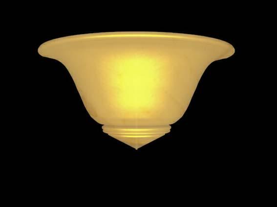 Bracket lights 022 3D Model
