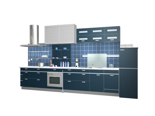 Built-in kitchens 3D Model