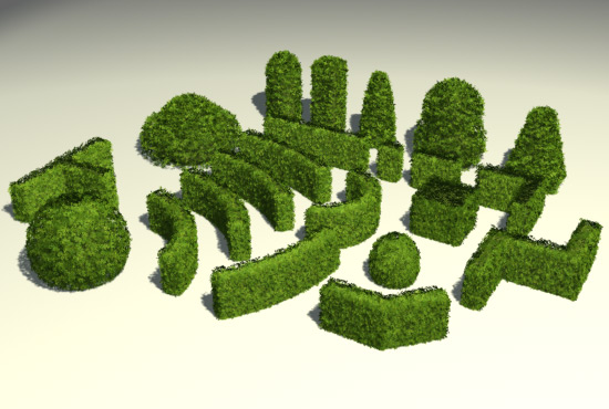 Bushes / coppices 3D Model