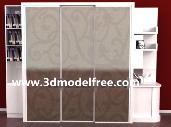 Cabinet free download-04 3D Model