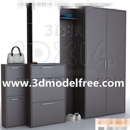 Cabinet free download-05 3D Model