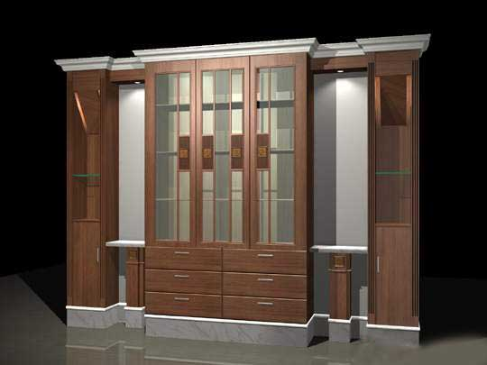 Cabinets 018 3D Model