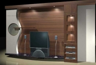 Cabinets 049��49�� 3D Model