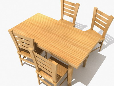 chairs 7-4 3D Model