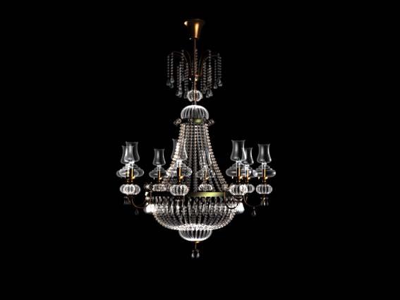 chandeliers 001 3D Model