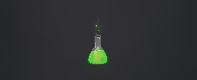 Chemical Flask Icon PSD