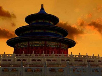 Chinese ancient Beijing Tiantan 3D Model