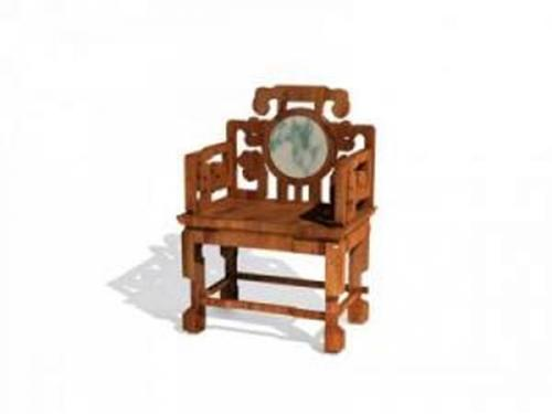 Chinese chairs-1 3D Model