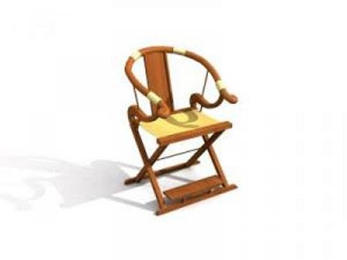 Chinese chairs-3 3D Model