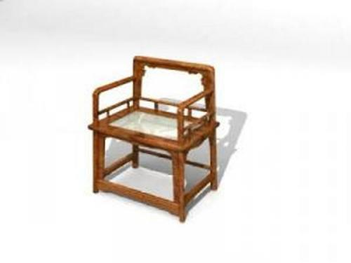 Chinese chairs-5 3D Model