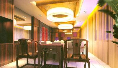 Chinese Restaurant 3D Model
