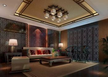 Chinese-style living room scene model 3D Model