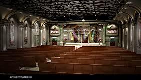 Church model 3D Model