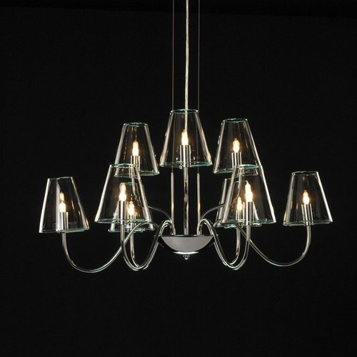 Classic small European crystal chandeliers 3D Model
