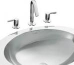Clean white sink 3D Model