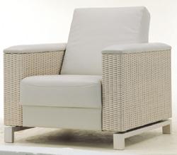 Cloth woven single person sofa 3D models