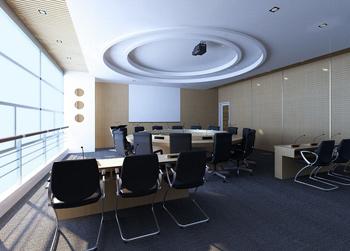 Conference room model 3D Model