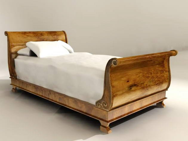 / Continental furniture/beds (15) 3D Model