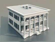 Continental residentials / Architectural Mode-17 3D Model