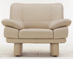 Coriaceous single soft sofa 3D models