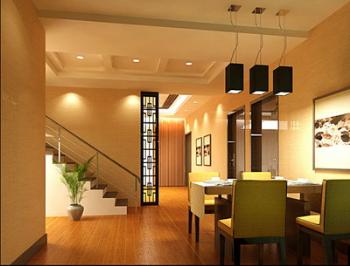 Cozy restaurant 3D model