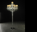 Crystal floor lamp 3D Model 02