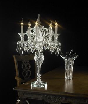 Crystal table lamp Model 02 3D Model