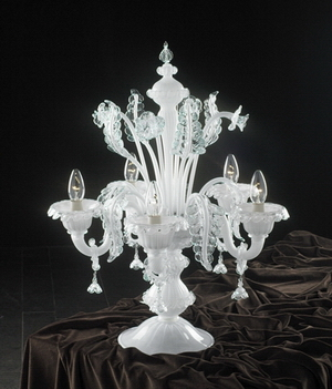 Crystal table lamp Model 06 3D Model