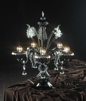 Crystal table lamp Model 07 3D Model