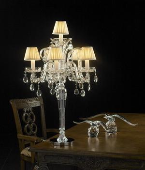 Crystal table lamp Model01 3D Model